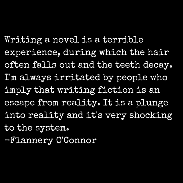 Flannery O'Conner Quote