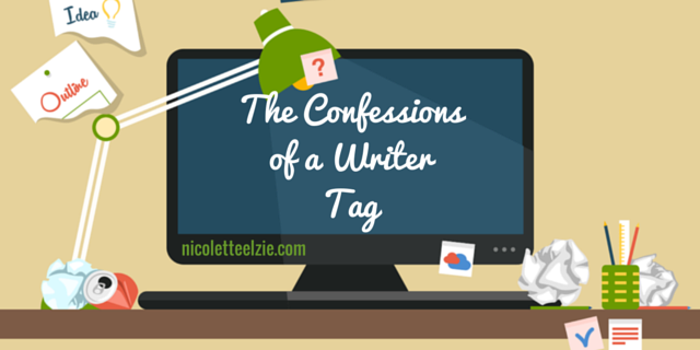 The Confessions of a Writer Tag