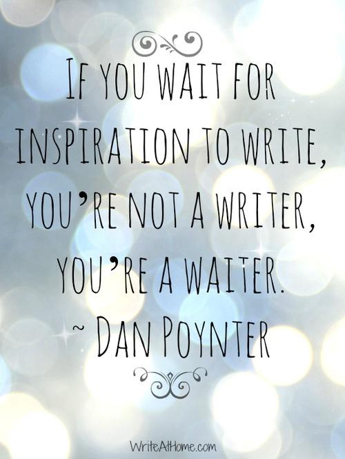 Writer not Waiter