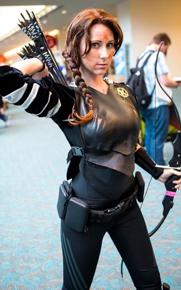 katniss cosplay