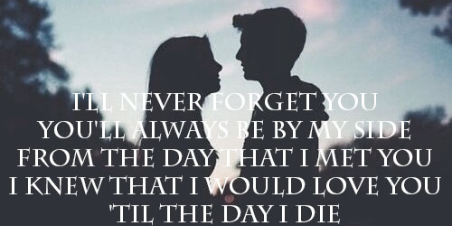 I'll-Never-Forget-You-Edit