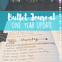 Bullet Journal // One Year Update