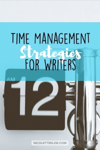 11 Time Management Strategies for Writers